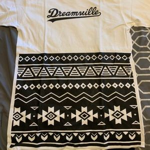J. Cole Dreamville African Print T-shirt New